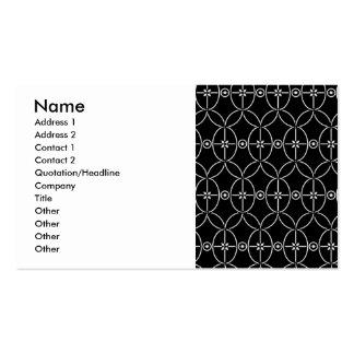 simple_orn_pat3.jpg, nombre, dirección 1, direcció plantillas de tarjetas de visita