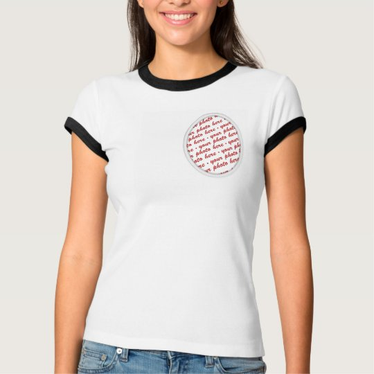 Simple Oval Photo Frame T-Shirt