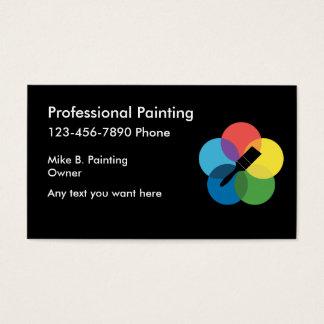 painter business card template
