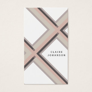 Simple Pale pink feminine minimalist modern Business Card