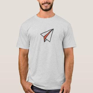Simple Paper Plane Icon Shirt