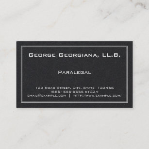 Paralegal business cards templates zazzle simple paralegal business card colourmoves
