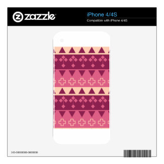 simple pattern decal for the iPhone 4