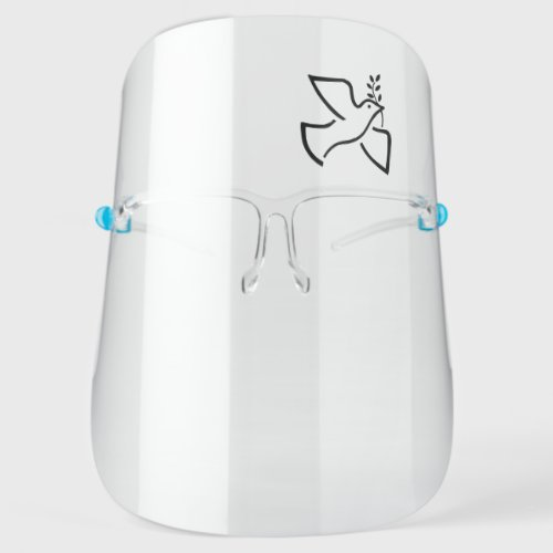 Simple Peace Dove Face Shield