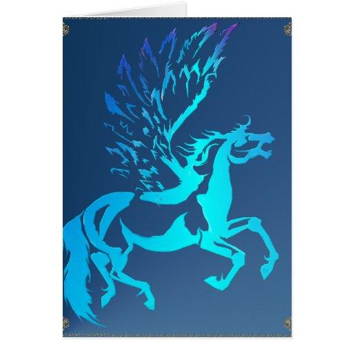 Simple Pegasus Card
