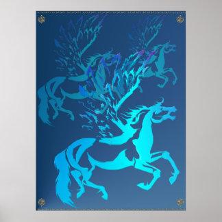 Simple Pegasus Poster
