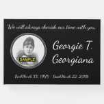 [ Thumbnail: Simple & Personalized Sympathy Guestbook ]