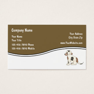 Simple Pet Business Cards