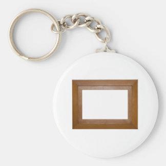 Simple photo frame keychain