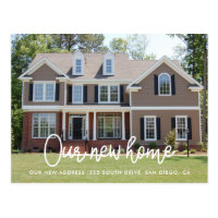 Moving & New Home Announcements<