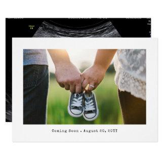 Simple Photo Pregnancy Announcement