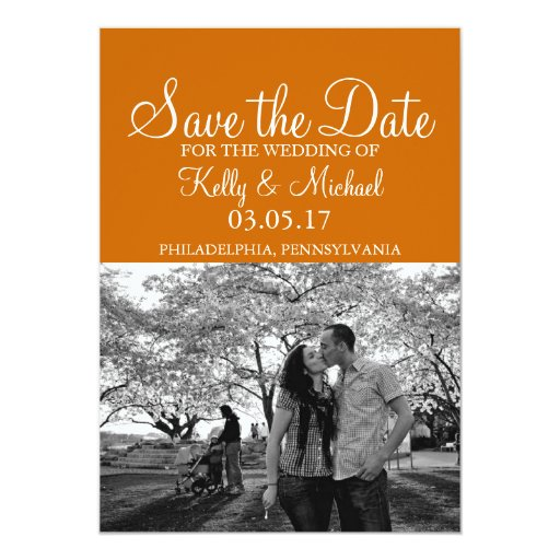 Simple Photo Save the Date Cards
