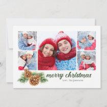 Simple Pinecone | Christmas Photo Card