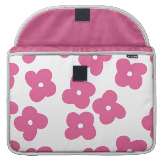 Simple Pink Blossoms MacBook Pro Sleeve