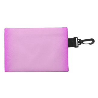 Simple Pink Shimmer Accessories Bag