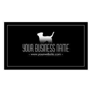 Simple Plain Dog/Pet Care Business Card
