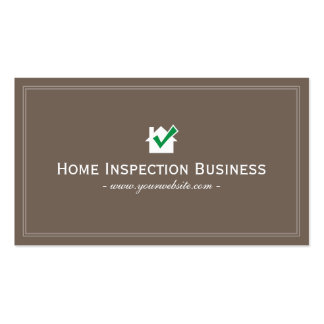 128 home inspection business cards and home inspection for Home inspection business cards