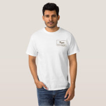 Simple plain t-shirt with Regiis design.