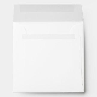 Simple Plain White Blank Paper Envelopes