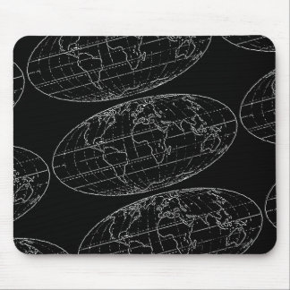 simple planisphere maps mousepads