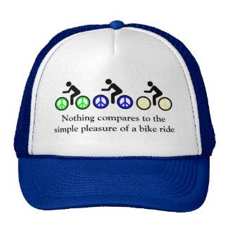 simple pleasures cap trucker hat