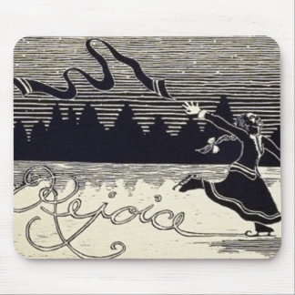 SIMPLE PLEASURES CHRISTMAS HOLIDAY MOUSE PAD