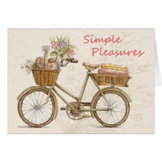 Simple Pleasures - Greeting Card