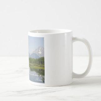 Simple Pleasures Mug- Grand Tetons Classic White Coffee Mug