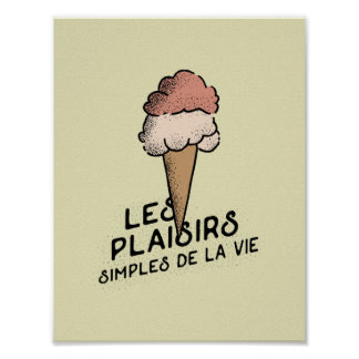 Simple Pleasures of Life Print