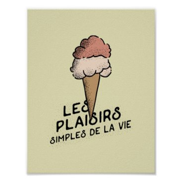 Beach Themed Simple Pleasures of Life Print