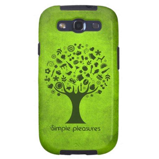 Simple Pleasures Tree Samsung Galaxy SIII Cover