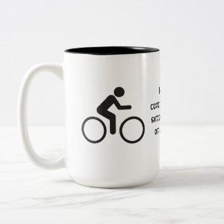 simple pleasures Two-Tone coffee mug