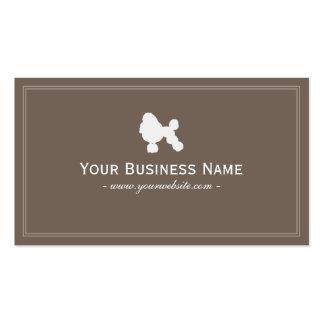 Simple Poodle Business card