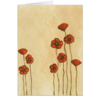 Simple Poppies Card