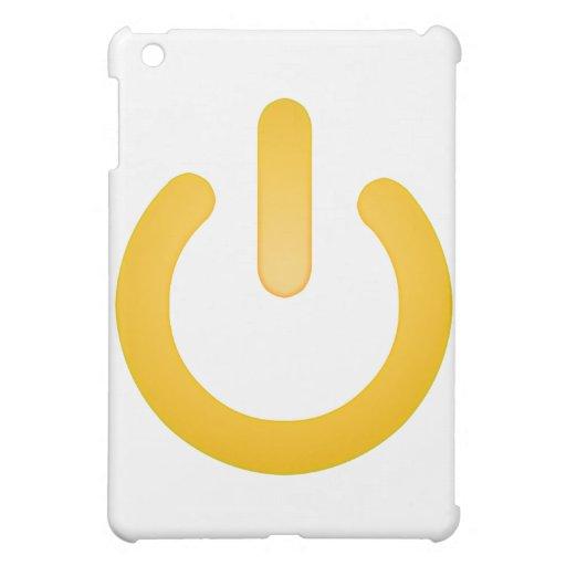 Simple Power Button iPad Mini Case