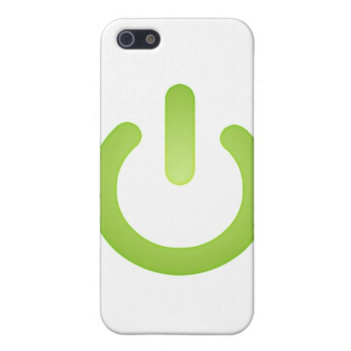 Simple Power Button iPhone 5 Case