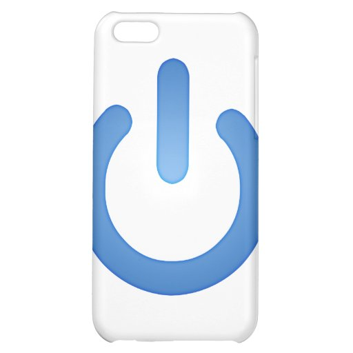 Simple Power Button iPhone 5C Cover