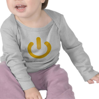 Simple Power Button Tshirts