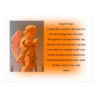 Simple Prayer Postcard