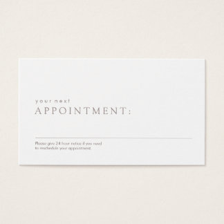 Medical Business Cards Medical Business Card Templates - Appointment business card template
