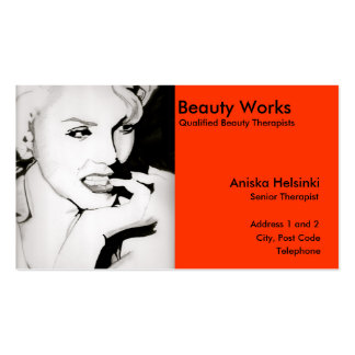 Simple Professional Beauty Cards