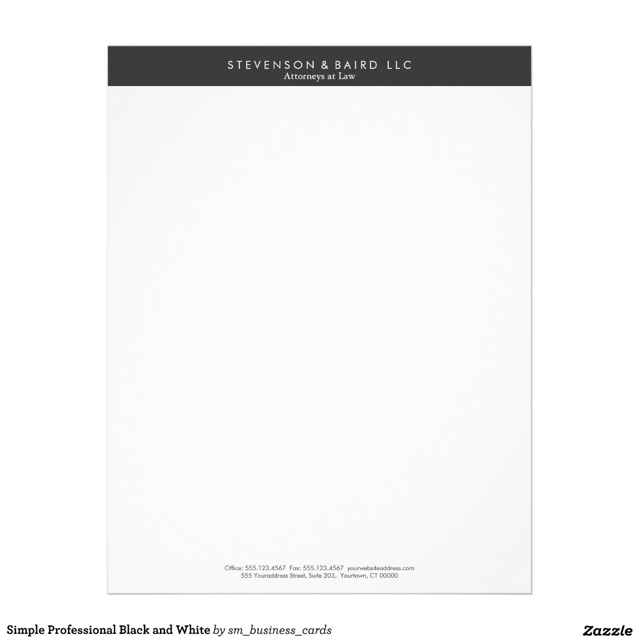 professional letterhead templates .