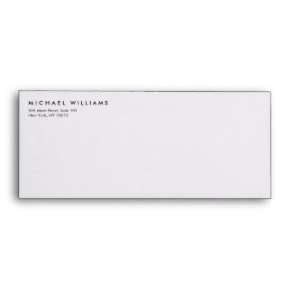 Simple Professional Envelope