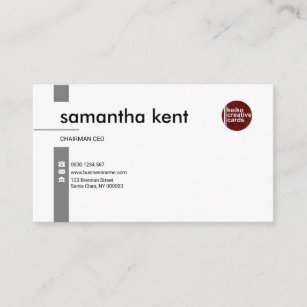 Ceo business cards zazzle simple professional exquisite white ceo business card colourmoves