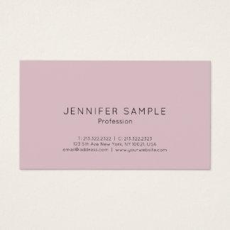 Simple Professional Modern Elegant Color Design Business Card