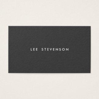 Simple Professional Modern Simple Black Business Card