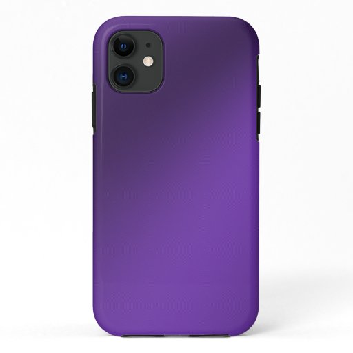 Simple purple background iPhone 11 case