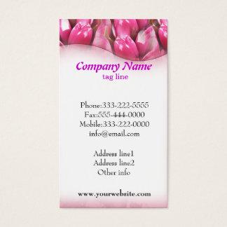 Simple Purple Flower Business Cards