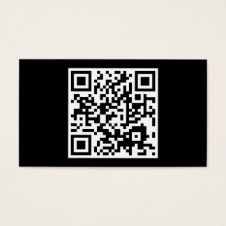 simple QR code Business Card