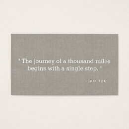 Motivational quotes business cards templates zazzle simple quote on linen authors writers business card colourmoves